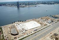 1982 June 03..Redevelopment.Downtown South (R-9)..WATERSIDE.CONSTRUCTION PROGRESS...NEG#.NRHA#..