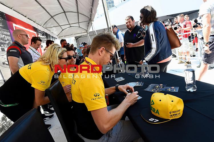 08.06.2017, Circuit Gilles Villeneuve, Montreal, FORMULA 1  GRAND PRIX CANADA, 09. - 11.06.2017 <br /> , im Bild<br />Nico H&uuml;lkenberg (GER#27), Renault Sport F1 Team<br /><br /> <br /> Foto &copy; nordphoto / Bratic