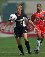 The New York Power defeated the San Jose CyberRays 2-1 on July 05, 2003 at Mitchel Athletic Complex, Uniondale, NY.