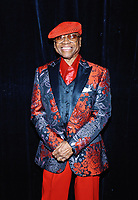 """05 October 2019 - Hamilton, Ontario, Canada.  Legendary singer Sonny Turner, original lead singer of The Platters backstage at """"What A Night - Living Legends"""" at the FirstOntario Concert Hall.  Photo Credit: Brent Perniac/AdMedia"""