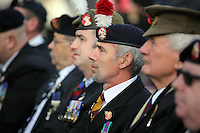 Pictured: Ex servicemen at the service Friday 11 November 2016<br />
