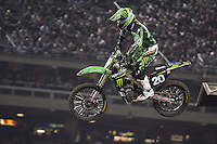 01/22/11 Los Angeles, CA: Broc Tickle during the1st ever AMA Supercross held at Dodger Stadium.