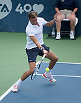 Julien Benneteau (FRA) loses to Mardy Fish (USA) 6-3, 7-5,  at the CitiOpen in Washington, D.C., Washington, D.C.  District of Columbia on July 31, 2013.