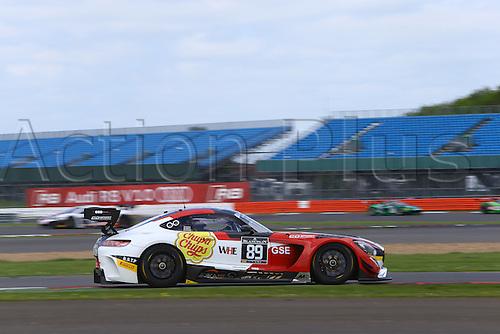 14.05.2016. Silvertone Circuit, Nathants, England. Blancpain Endurance GT Series motor racing.  #89 AKKA ASP (FRA) MERCEDESS SLS AMG GT3 LAURENT CAZENAVE (FRA) MICHAEL LYONS (GBR) DANIELE PERFETTI (ITA)