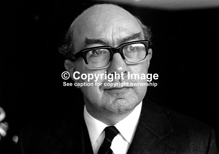 Dr R G Ussher, Dean, School of Humanaties, New University of Ulster, N Ireland, January 1975, 197501000065<br />
