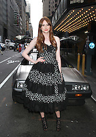 August 25, 2012 Karen Gillan,  attend the US premiere  screening  of Doctor Who  at the Ziegfeld Theatre in New York City.Credit:&copy; RW/MediaPunch Inc. /NortePhoto.com<br />