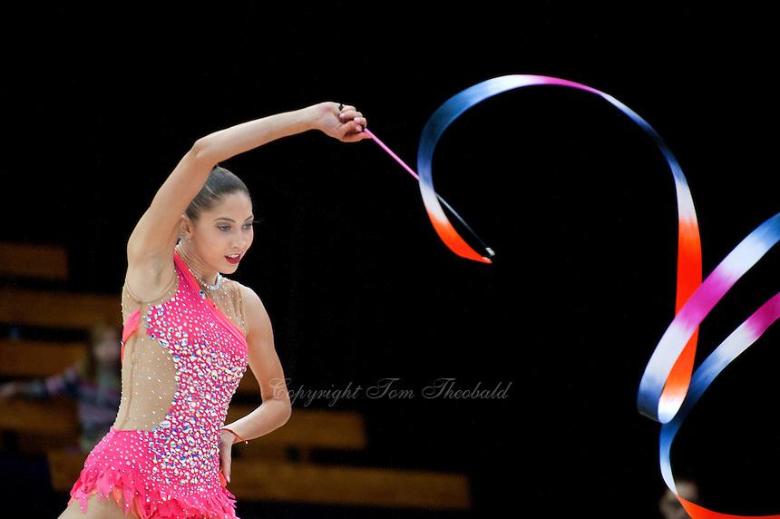 "February 12, 2016 - Tartu, Estonia - ALIYA PROTTO of USA performs in the All-Around at ""Miss Valentine"" 2016 international tournament."