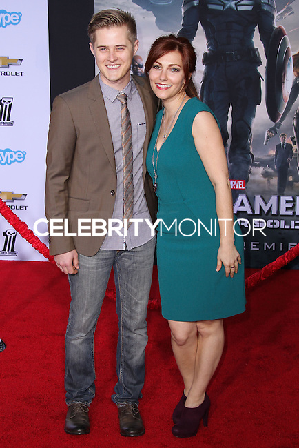 """HOLLYWOOD, LOS ANGELES, CA, USA - MARCH 13: Lucas Grabeel at the World Premiere Of Marvel's """"Captain America: The Winter Soldier"""" held at the El Capitan Theatre on March 13, 2014 in Hollywood, Los Angeles, California, United States. (Photo by Xavier Collin/Celebrity Monitor)"""