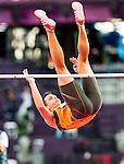 Engeland, London, 8 augustus 2012.Olympische Spelen London.Hoogspringen 10 kamp met Eelco Sintnicolaas