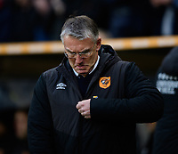 Hull City manager Nigel Adkins<br /> <br /> Photographer Chris Vaughan/CameraSport<br /> <br /> The EFL Sky Bet Championship - Hull City v Sheffield Wednesday - Saturday 12th January 2019 - KCOM Stadium - Hull<br /> <br /> World Copyright &copy; 2019 CameraSport. All rights reserved. 43 Linden Ave. Countesthorpe. Leicester. England. LE8 5PG - Tel: +44 (0) 116 277 4147 - admin@camerasport.com - www.camerasport.com