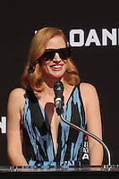 HOLLYWOOD, CA - NOVEMBER 3: Jessica Chastain hand and footprint ceremony at the TCL Chinese Theatre in Hollywood, California on November 3, 2016. Credit: David Edwards/MediaPunch