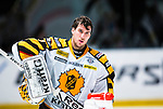 Stockholm 2013-12-07 Ishockey Elitserien AIK - Skellefte&aring; AIK :  <br /> Skellefte&aring;s m&aring;lvakt Henrik Karlsson <br /> (Foto: Kenta J&ouml;nsson) Nyckelord:  AIK Skellefte&aring; SAIK portr&auml;tt portrait