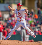 4 March 2013: St. Louis Cardinals pitcher Keith Butler on the mound during a Spring Training game against the Minnesota Twins at Roger Dean Stadium in Jupiter, Florida. The Twins shut out the Cardinals 7-0 in Grapefruit League play. Mandatory Credit: Ed Wolfstein Photo *** RAW (NEF) Image File Available ***