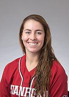 Stanford, CA - January 14, 2016.  Stanford Softball portraits.