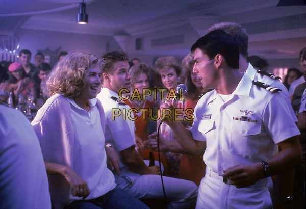 Kelly McGillis, Tom Cruise<br /> in Top Gun (1986) <br /> *Filmstill - Editorial Use Only*<br /> CAP/NFS<br /> Image supplied by Capital Pictures