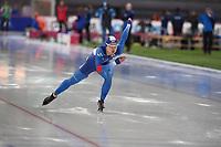 SPEED SKATING: HAMAR: Viking Skipet, 03-02-2019, ISU World Cup Speed Skating, Seung Yong Yang (KOR), ©photo Martin de Jong