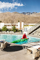 The pool at the Ace Hotel, Palm Springs, CA Images are available for editorial licensing, either directly or through Gallery Stock. Some images are available for commercial licensing. Please contact lisa@lisacorsonphotography.com for more information.