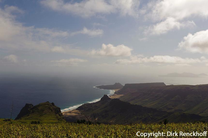 Blick vom Monte Verde, Sao Vicente, Kapverden, Afrika