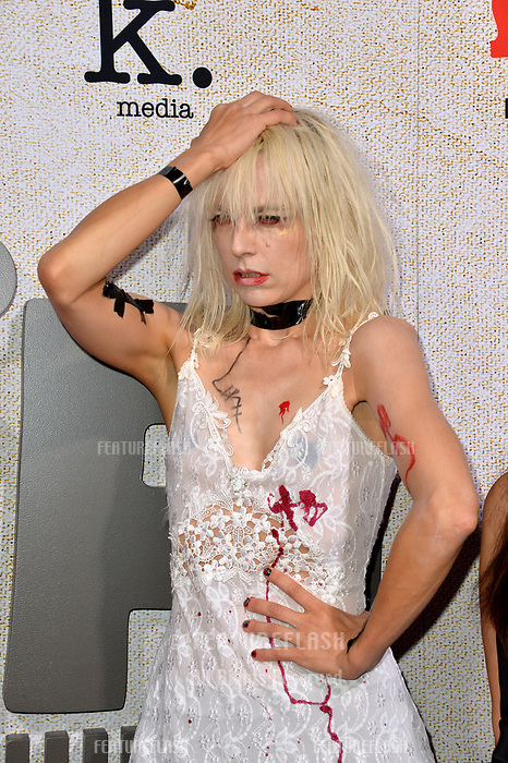 "LOS ANGELES, CA. October 24, 2018: Kate Crash at the Los Angeles premiere for ""Suspiria"" at the Cinerama Dome.<br /> Picture: Paul Smith/Featureflash"