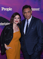 NEW YORK, NEW YORK - MAY 13: Caitlin McGee and Jimmy Smits attends the People & Entertainment Weekly 2019 Upfronts at Union Park on May 13, 2019 in New York City. <br /> CAP/MPI/IS/JS<br /> ©JS/IS/MPI/Capital Pictures