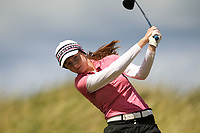 Kate Lanigan (Hermitage) during the 1st round of the Irish Women's Open Stroke Play Championship, Enniscrone Golf Club, Enniscrone, Co. Sligo. Ireland. 16/06/2018.<br /> Picture: Golffile | Fran Caffrey<br /> <br /> <br /> All photo usage must carry mandatory copyright credit (© Golffile | Fran Caffrey)