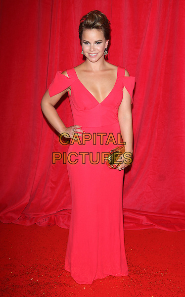 LONDON, ENGLAND - MAY 24:  Jessica Fox attends the British Soap Awards at Hackney Empire on May 24, 2014 in London, England<br /> CAP/ROS<br /> &copy;Steve Ross/Capital Pictures