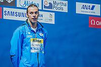 PALTRINIERI Gregorio ITA<br /> 1500 Freestyle Men Final Gold Medal<br /> Swimming - Kazan Arena<br /> Day17 09/08/2015<br /> XVI FINA World Championships Aquatics Swimming<br /> Kazan Tatarstan RUS July 24 - Aug. 9 2015 <br /> Photo A.Masini/Deepbluemedia/Insidefoto