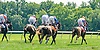 C'Mon Boys winning at Delaware Park on 7/21/16