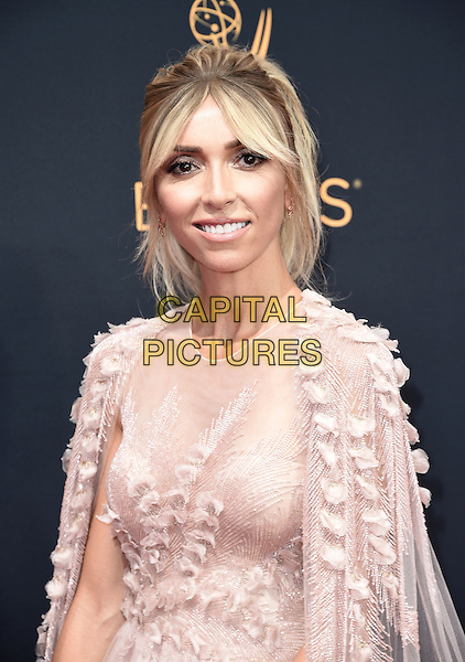 LOS ANGELES, CA - SEPTEMBER 18: Giuliana Rancic arrives at the 68th Emmy Awards at the Microsoft Theater on Sunday, September 18, 2016, in Los Angeles, California. <br /> CAP/MPI99<br /> &copy;MPI99/Capital Pictures