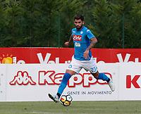 Elseid Hysaj Elseid Hysaj  of Napoli  during a preseason friendly soccer match against Aunania in Dimaro's Stadium   12 July 2017  .it