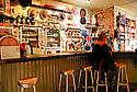 Old man at bar, outback pub, Innamincka Hotel, South Australia