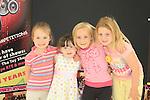 Ella Murphy, Kayla Burke, Emma Tiernan Aimee Everitt Mary Simpson Stage School.Picture Fran Caffrey www.newsfile.ie