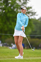 Jessica Korda (USA) watches her tee shot on 8 during the round 3 of the KPMG Women's PGA Championship, Hazeltine National, Chaska, Minnesota, USA. 6/22/2019.<br /> Picture: Golffile | Ken Murray<br /> <br /> <br /> All photo usage must carry mandatory copyright credit (© Golffile | Ken Murray)