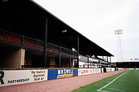 The main stand at Ayr United FC Football Ground, Somerset Park, Tryfield Place, Ayr, Scotland, pictured on 27th July 1999