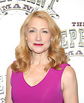Patricia Clarkson attends the 'The Elephant Man' Broadway Cast photo call at Sardi's on October 21, 2014 in New York City.
