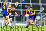 Brian Looney Dr Crokes in action against John Spillane Kenmare District in the Senior County Football Championship final at Fitzgerald Stadium on Sunday.