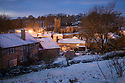 08/12/17<br /> <br /> The first light of day reveals a picture-postcard scene after over-night snowfall transforms Hartington in the Derbyshire Peak District into a winter wonderland,<br />   <br /> All Rights Reserved F Stop Press Ltd. +44 (0)1335 344240 +44 (0)7765 242650  www.fstoppress.com