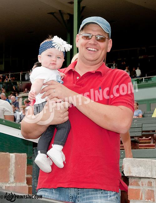 The Ness family winning at Delaware Park on 5/27/13.