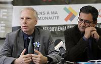 Jean-Francois Lisee,November 6, 2014<br /> <br /> PHOTO : Agence Quebec Presse  - Pierre Roussel