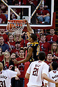01 March 2011: Laurence Bowers #21 of the Missouri Tigers dunks the ball against the Nebraska Cornhuskers during the second half at the Devaney Sports Center in Lincoln, Nebraska. Nebraska defeated Missouri 69 to 58.