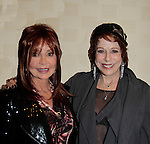 General Hospital's  Jacklyn Zeman & Days Of Our Lives Louise Sorel at The Jane Elissa Extravaganza 2014 - 19 years on November 17, 2014 which benefits the Jane Elissa/Charlotte Meyer Endowment Fund which raises revenue that directly supports the research programs of the Leukemia/Lymphoma Society. The grant goes to an individual researcher.  (Photo by Sue Coflin/Max Photos)