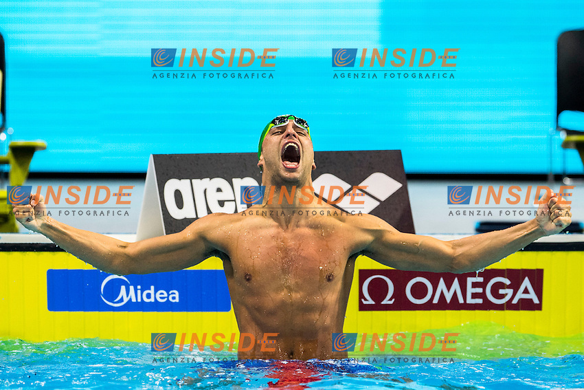 LE CLOS Chad RSA Gold Medal<br /> Men's 100m Butterfly<br /> 13th Fina World Swimming Championships 25m <br /> Windsor  Dec. 8th, 2016 - Day03 Finals<br /> WFCU Centre - Windsor Ontario Canada CAN <br /> 20161208 WFCU Centre - Windsor Ontario Canada CAN <br /> Photo &copy; Giorgio Scala/Deepbluemedia/Insidefoto