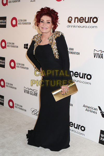 WEST HOLLYWOOD, CA - MARCH 2: Sharon Osbourne attending the 22nd Annual Elton John AIDS Foundation Academy Awards Viewing/After Party in West Hollywood, California on March 2nd, 2014. Photo <br /> CAP/MPI/COR99<br /> &copy;COR99/MediaPunch/Capital Pictures