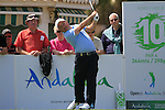 Damien McGrane (IRL) tees off on the 10th tee to start his round during Day 1 Thursday of the Open de Andalucia de Golf at Parador Golf Club Malaga 24th March 2011. (Photo Eoin Clarke/Golffile 2011)