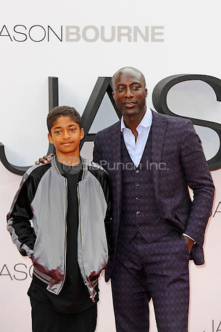 LONDON, ENGLAND - JULY 11: Ozwald Boateng attending the 'Jason Bourne' European Premiere at Odeon Cinema, Leicester Square on July 11, 2016 in London, England.<br /> CAP/MAR<br /> &copy;MAR/Capital Pictures /MediaPunch ***NORTH AND SOUTH AMERICAS ONLY***