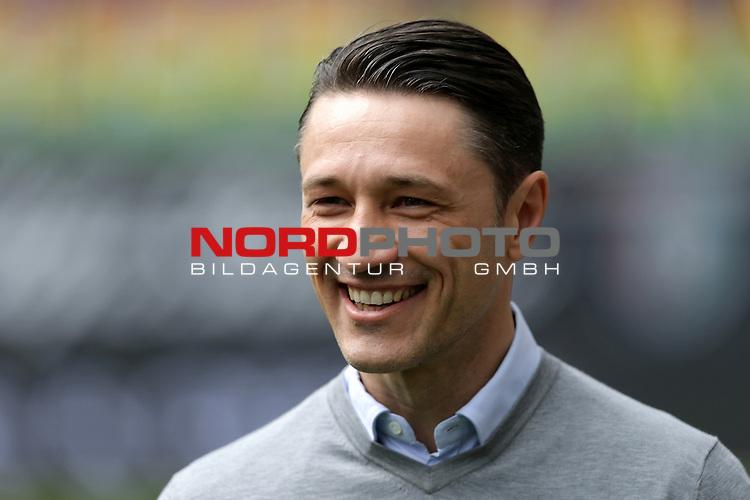 09.04.2016, Commerzbank Arena, Frankfurt, GER, 1.FBL, Eintracht Frankfurt vs TSG 1899 Hoffenheim<br /> Trainer Niko Kovac (Frankfurt)<br /> <br /> <br /> <br /> Foto &copy; nordphoto /  Bratic