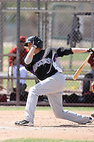 David Christensen, Colorado Rockies 2010 minor league spring training..Photo by:  Bill Mitchell/Four Seam Images.