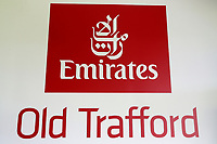 Emirates Old Traffod signage during Lancashire CCC vs Essex CCC, Specsavers County Championship Division 1 Cricket at Emirates Old Trafford on 11th June 2018