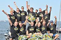 SKUTSJESILEN: FRYSLAN: SKS Skûtsjesilen 2013, Kampioen Sneek, ©foto Martin de Jong