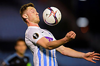 VIGO, SPAIN - APRIL 13 : Jakub Brabec defender of KRC Genk controls the ball on his chest during the UEFA Europa League, Quarter-finals, 1st leg match between RC Celta de Vigo and KRC Genk at the Balaidos stadium on April 13, 2017 in Vigo, Spain, 13/04/2017 <br /> Vigo 13-04-2016 <br /> Celta Vigo - Genk Europa League <br /> Foto Panoramic / Insidefoto <br /> ITALY ONLY